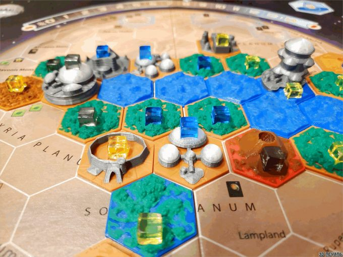 Терраформирование плиток Марса