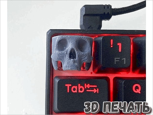Ключ Cherry MX Skull