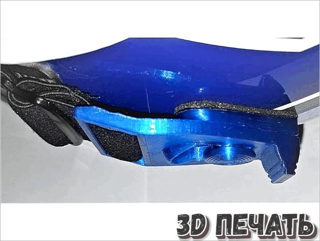 Кронштейны для защитного шлема