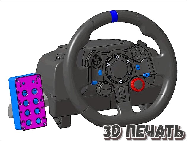 Коробка кнопок Sim Racing