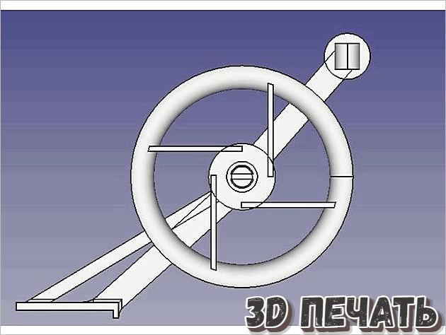 Направляющее колесо для нити Creality CR10 v2