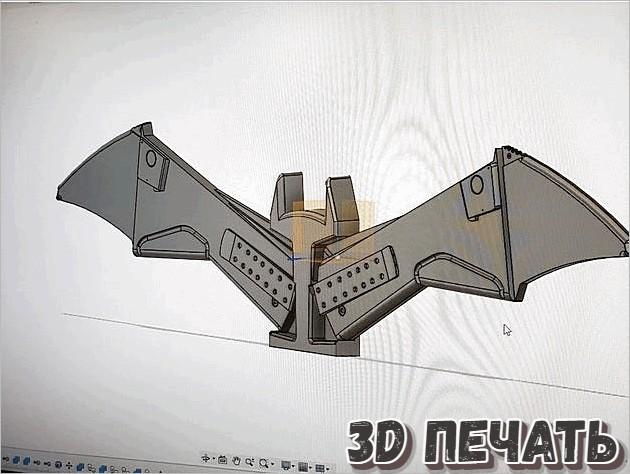 Подставка в виде Бэтмена