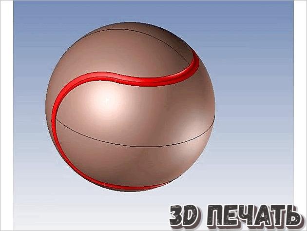 Пазл с теннисным мячом
