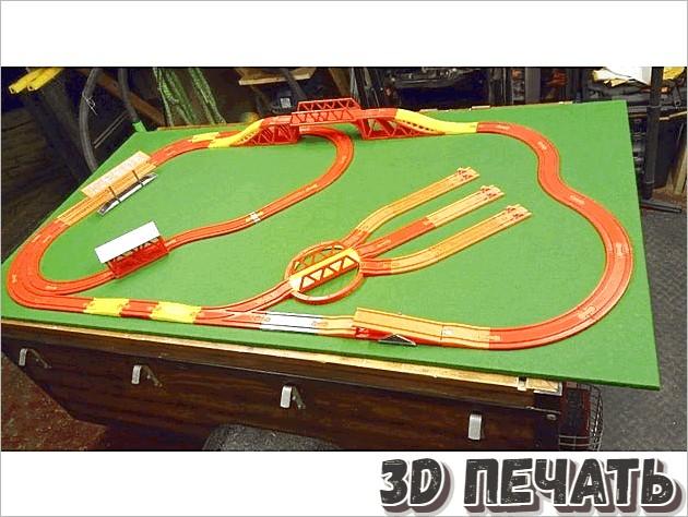 6-миллиметровые железнодорожные пути