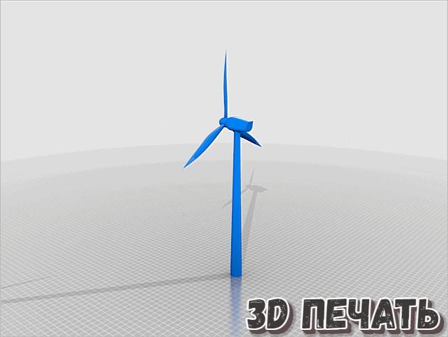 Ветрогенератор/ветряная турбина
