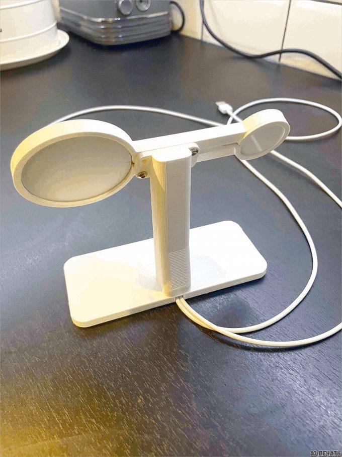 Подставка для зарядки iPhone и Apple Watch MagSafe