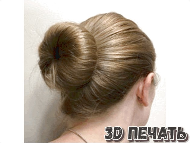 Инструмент для создания пучков волос