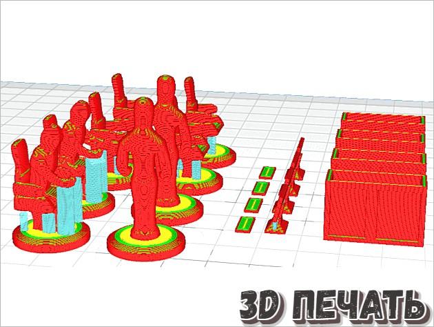 3D Основы мебели